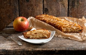 foto Crostata di mele e crema frangipane