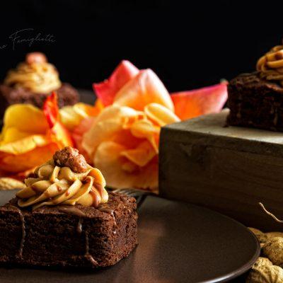 foto Brownies al burro di arachidi